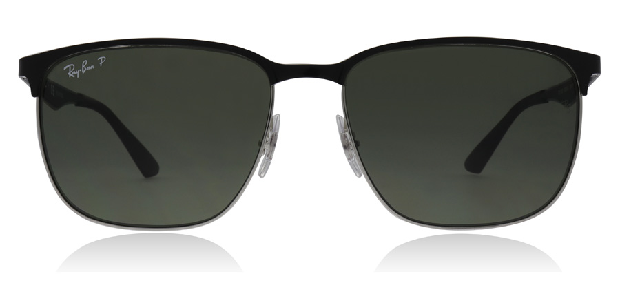 Ray-Ban RB3569 Shiny Black 90049A 59mm Polarised