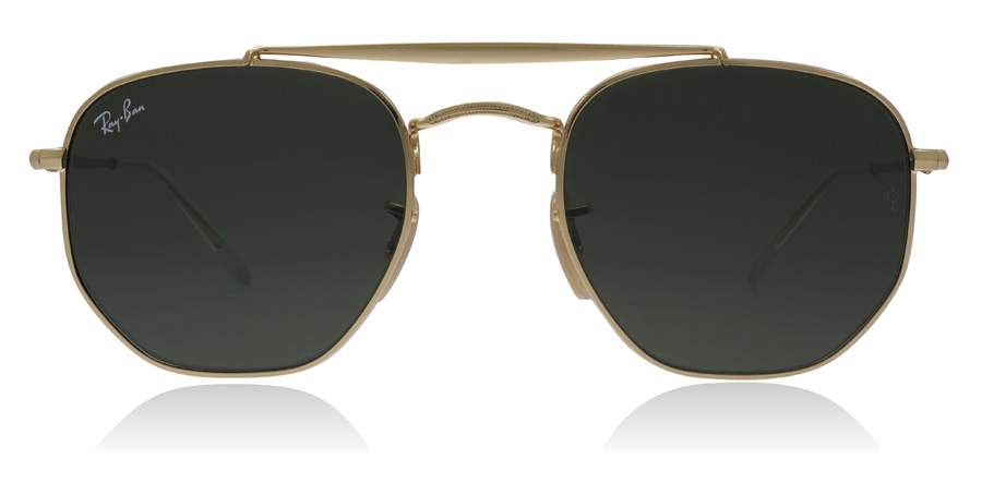 bd51ef3fa86 Ray-Ban RB3648 Sunglasses   RB3648 Gold RB3648 51Mm   UK