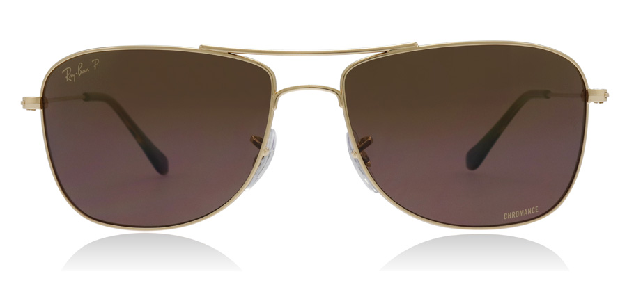 Ray-Ban RB3543 Shiny Gold 001/6B 59mm Polarised