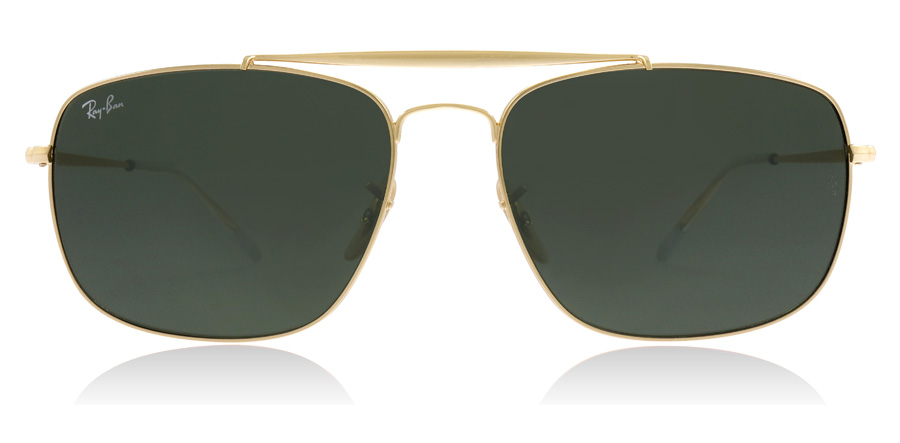 121ab02004 Ray-Ban RB3560 Sunglasses   RB3560 Gold RB3560 61Mm   UK