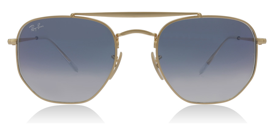 bec35c75286d5 Ray-Ban The Marshal Sunglasses   The Marshal Gold RB3648 54Mm   UK