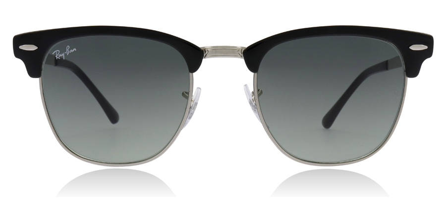 Ray-Ban Clubmaster RB3716 Silver / Black 900471 51mm