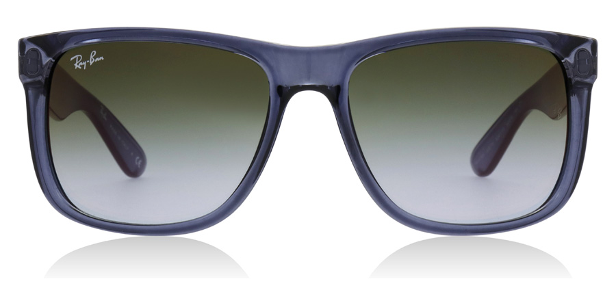 Ray-Ban Justin RB4165 Transparent Blue 6341T0 54mm