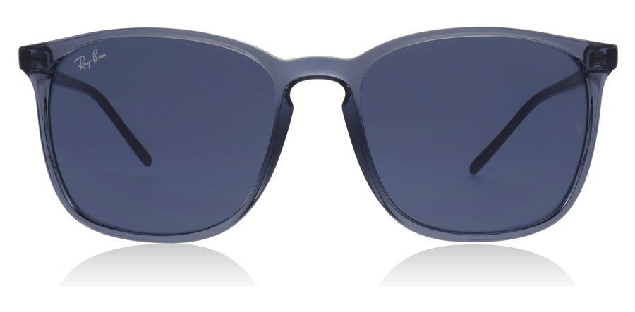 Ray-Ban RB4387 Transparent Blue 639980 56mm