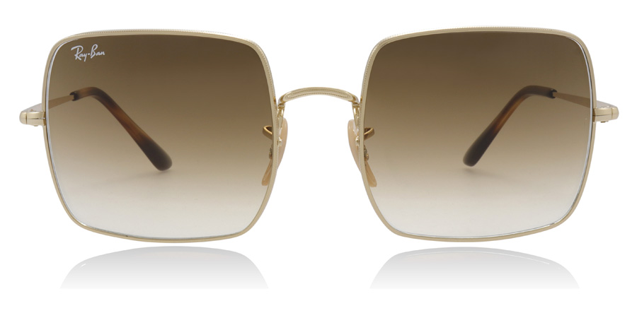 Ray-Ban Square 1971 Classic RB1971 Gold 914751 54mm