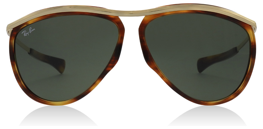 Ray-Ban Olympian Aviator RB2219 Stripped Havana 954/31 59mm
