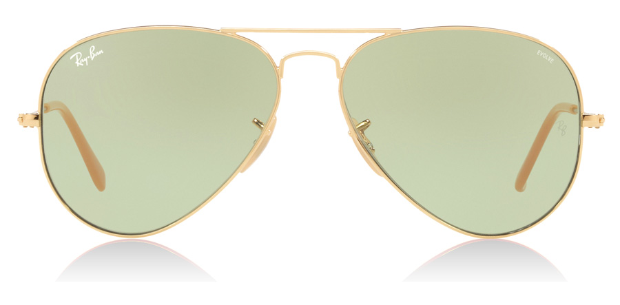 Ray-Ban RB3025 Gold 90644C 55mm