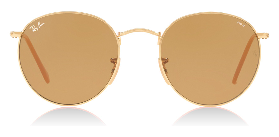 Ray-Ban RB3447 Gold 90644I 53mm