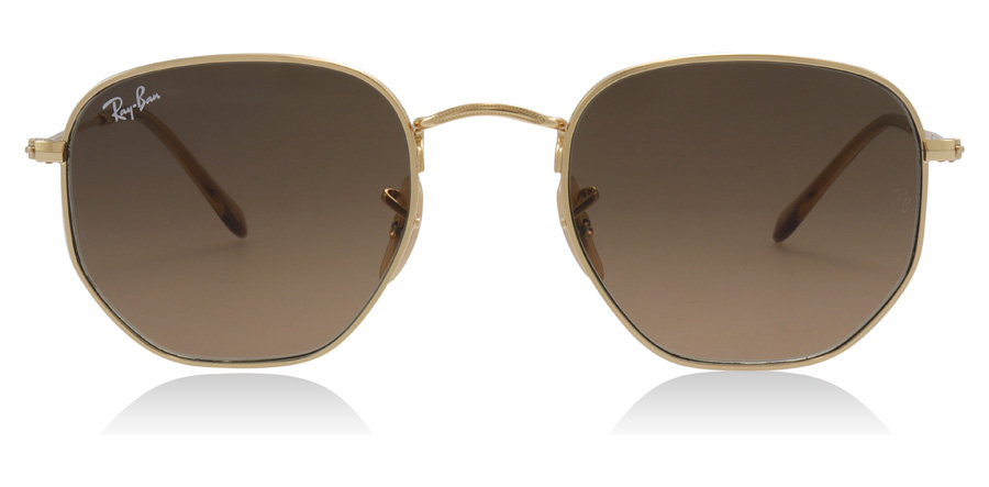 Ray-Ban RB3548N Hexagonal Gold 912443 51mm