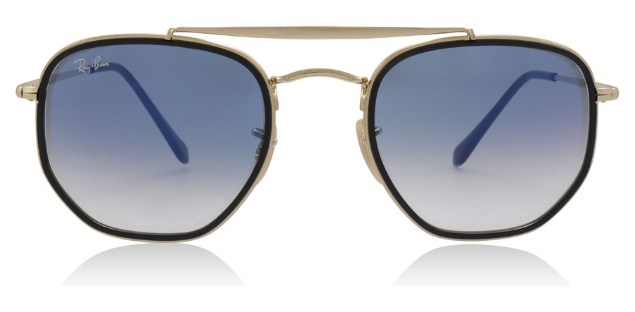 Ray-Ban The Marshal II RB3648M Gold 91673F 52mm