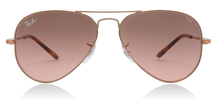 Ray-Ban RB3689 Copper 9151AA 55mm