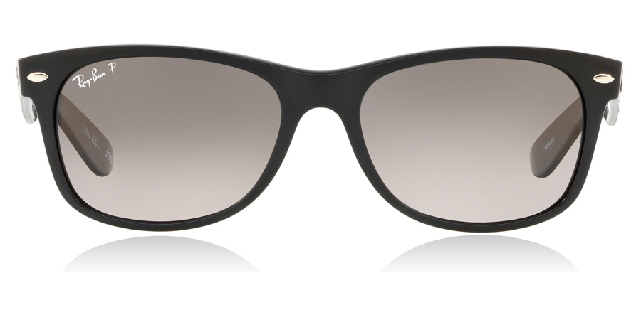 Ray-Ban New Wayfarer RB2132 Black 55mm Polarised