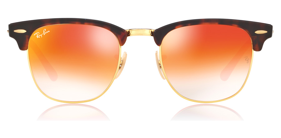 Ray-Ban Clubmaster RB3016 Brown 9904W 51mm