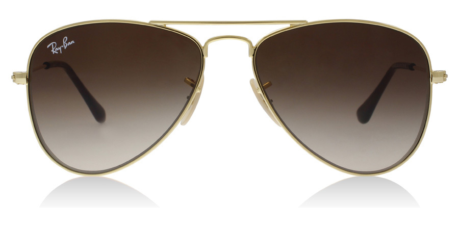 Ray-Ban Junior RJ9506S Age 4-8 Years Gold 223/13 50mm