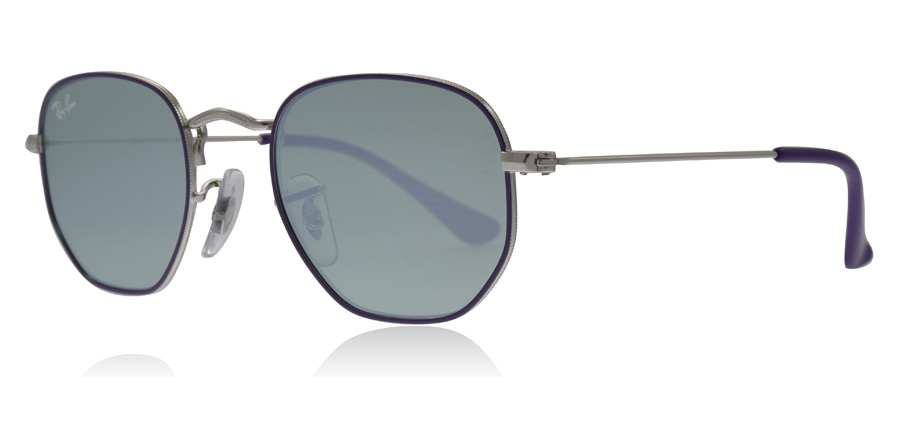 Ray-Ban Junior RJ9541SN Sonnenbrille Violett 262/30 44mm LdROY