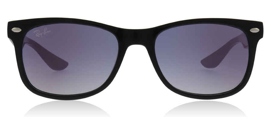 Ray-Ban Junior RJ9052S Age 7-10 Years Black 100/X0 48mm