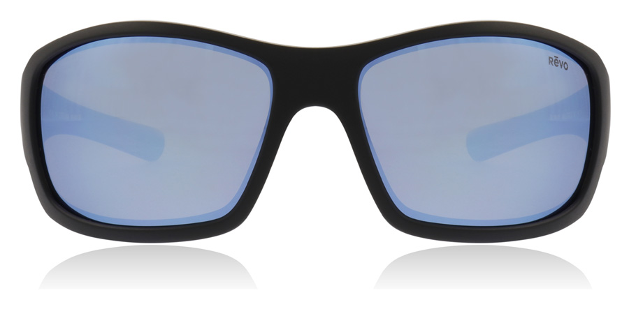 Revo Maverick RE1098 Matte Black / Blue 01BL 64mm Polarised