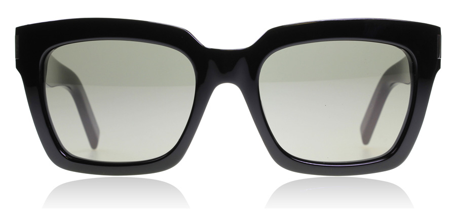 Saint Laurent Bold 1 Black Smoke 002 54mm