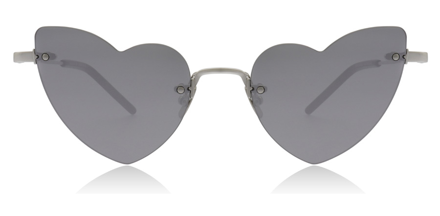 Saint Laurent Lou LOU SL254 Silver 002 50mm