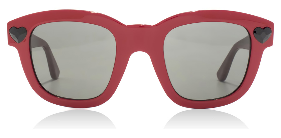 Saint Laurent SL100 Shiny Red / Jet 002 48mm