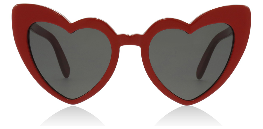 Saint Laurent SL181 LOULOU Red / Grey 002 54mm