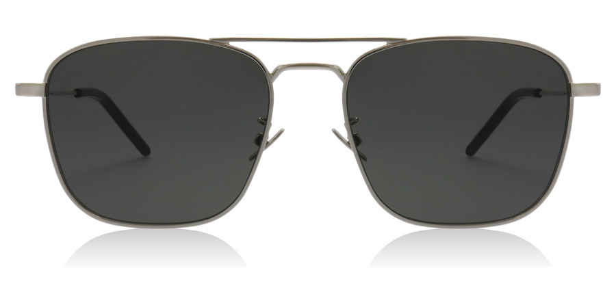 Saint Laurent SL309 Silver / Grey 001 56mm