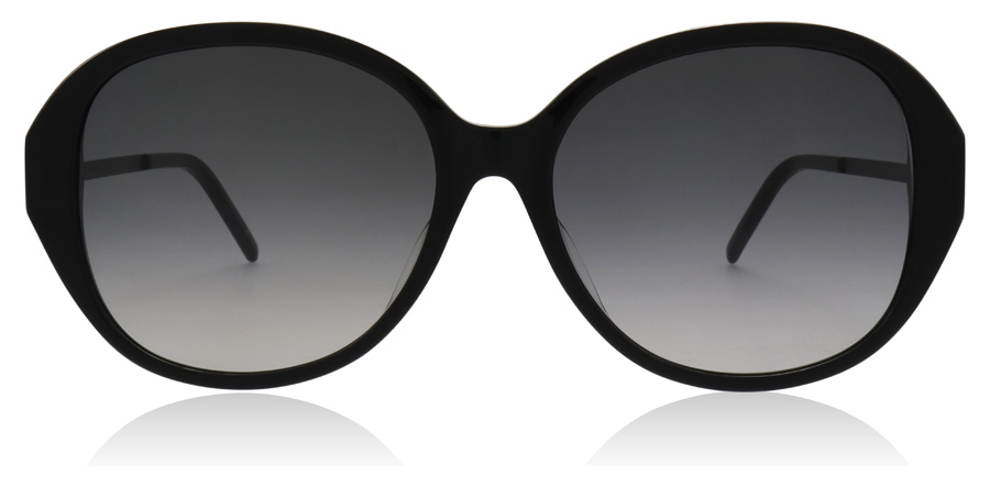 Saint Laurent SLIM SL48SBK Black Smoke 002 57mm