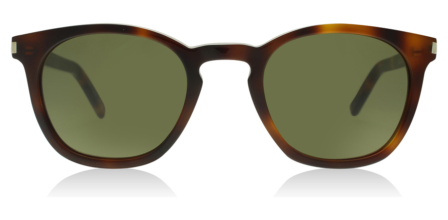 Saint Laurent SL28 Havana Green 003 49mm