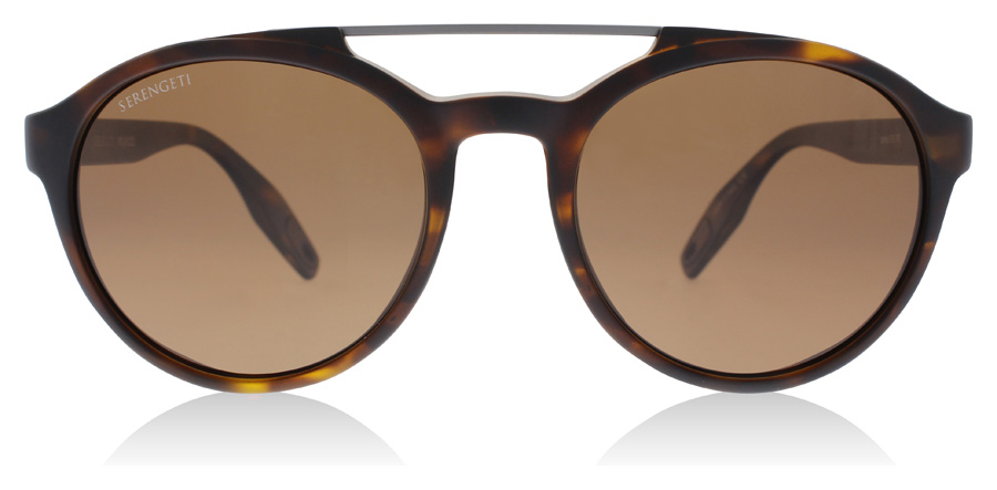 Serengeti Leandro 8595 Satin Tortoise 53mm Polarised