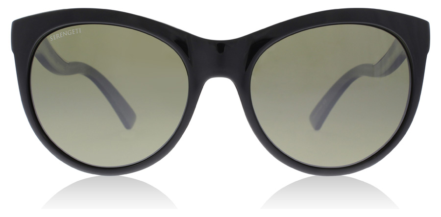 Serengeti Valentina 8571 Shiny Black 57mm Polarised
