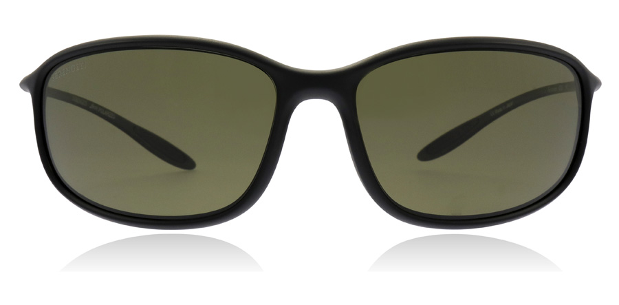 Serengeti Sestriere 8204 Satin Black 61mm Polarised
