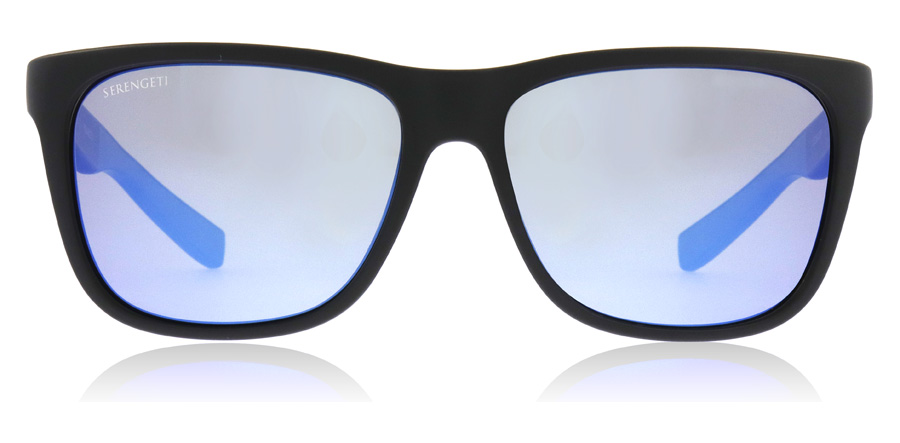 Serengeti Livio 8683 Sanded Black / Blue 57mm Polarised