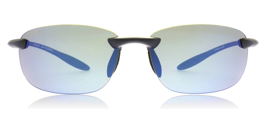 Serengeti Nuvola 8697 Satin Black 61mm Polarised