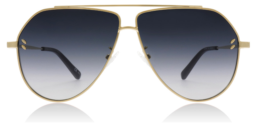 Stella McCartney SC0063S Sonnenbrille Gold 004 60mm 94GVpnwMhq