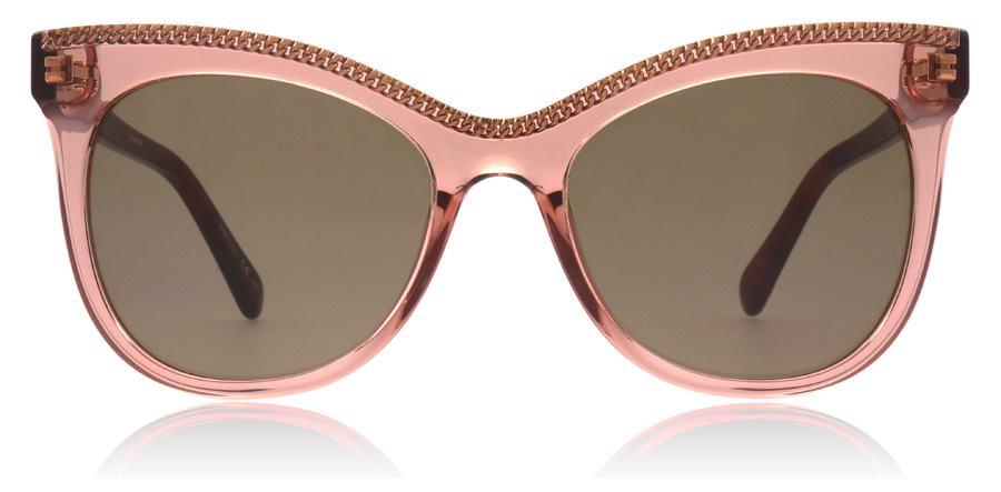 Stella McCartney SC0129S Pink / Havana 003 53mm