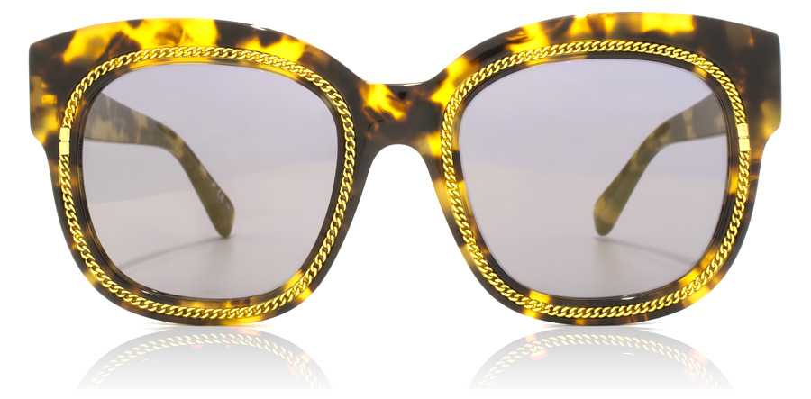 Stella McCartney SC0041S Shiny Mid Havana / Gold 003 51mm