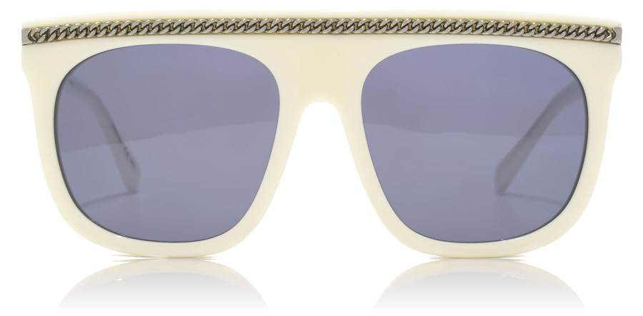 Stella McCartney SC0043S White / Dark Ruthenium 004 55mm