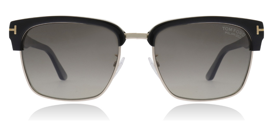 Tom Ford River - Black TF367 01D 57mm Polarised
