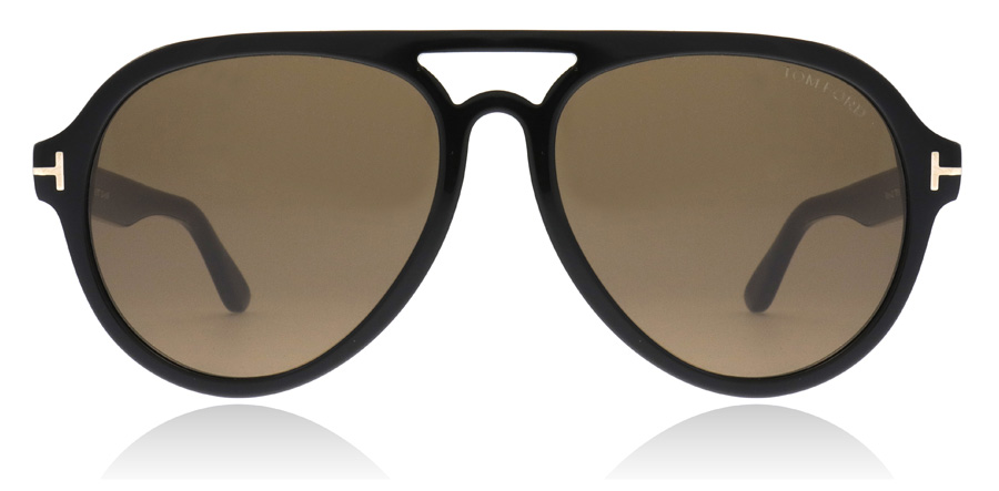 Tom Ford FT0596 Rory Shiny Black 01J 57mm