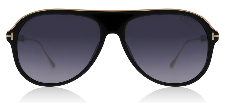 Tom Ford Nicholai FT0624 Shiny Black 01C 57mm