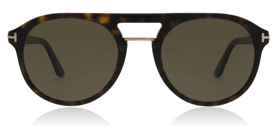 Tom Ford Ivanna Ivan FT0675 Dark Havana 52H 54mm Polarised