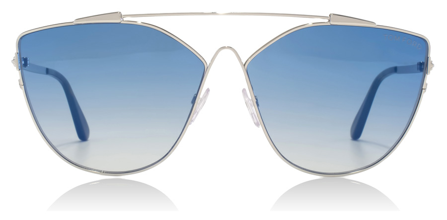 Tom Ford FT0563 Jacquelyn Shiny Rhodium 18X 64mm