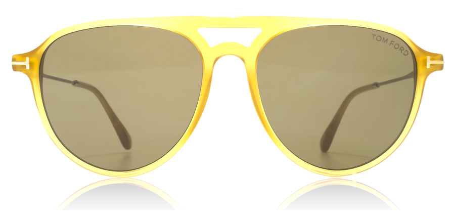 Tom Ford FT0587 Carlo Shiny Yellow 39J 56mm