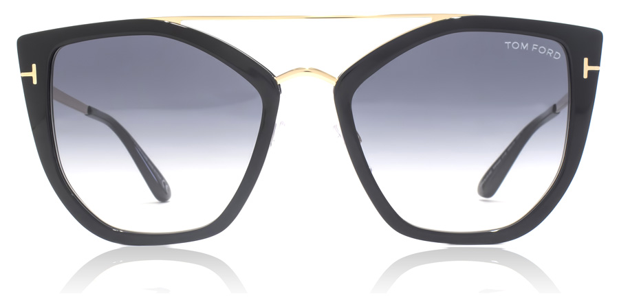 Tom Ford FT0648 Dahlia Shiny Black 01B 55mm