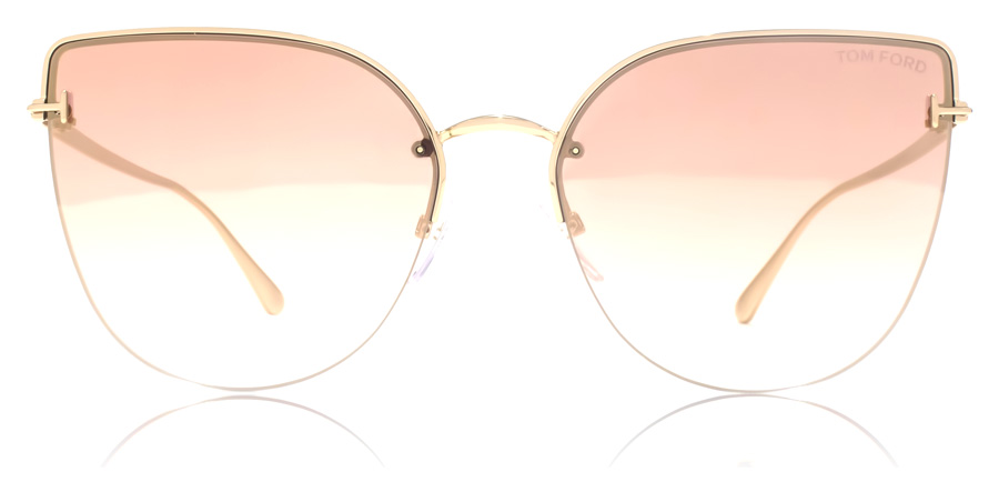 Tom Ford Ingrid FT0652 Gold 33Z 60mm