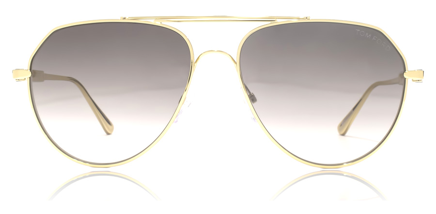 Tom Ford FT0670 Andes Shiny Rose Gold 28B 61mm