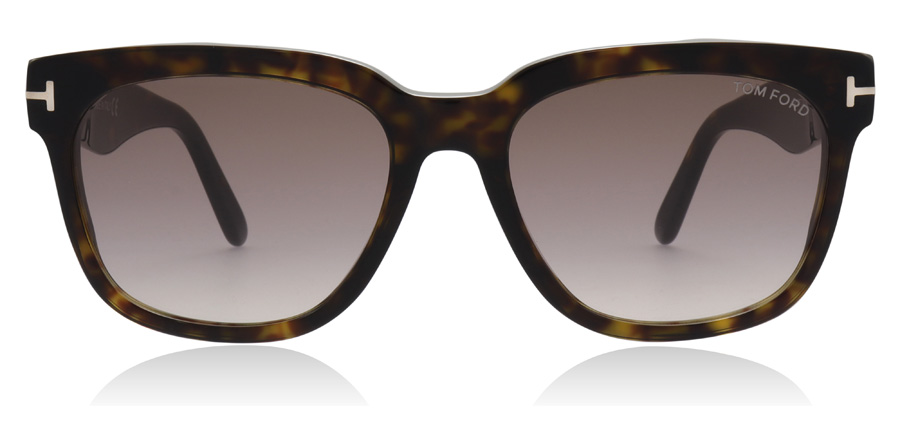 Tom Ford FT0714 Rhett Dark Havana 52F 55mm