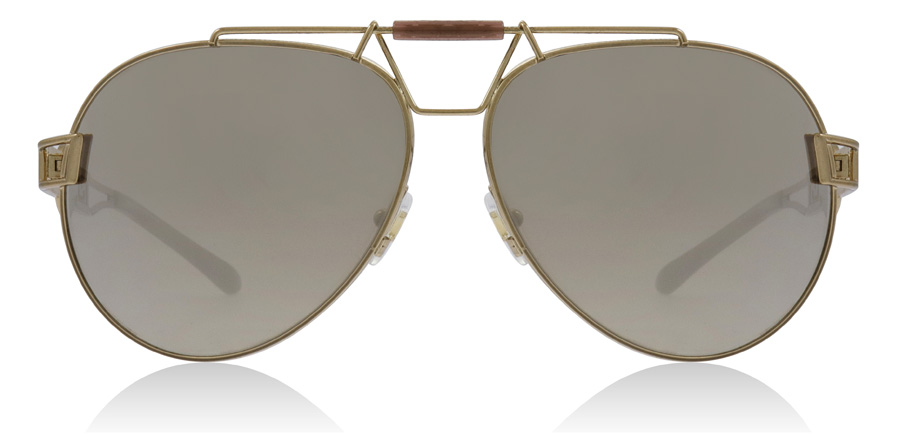 6f964ce9a9 Versace VE2160 Sunglasses   VE2160 Bronze VE2160 63Mm   UK