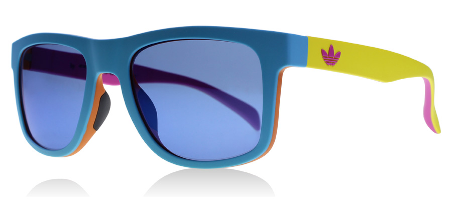 Compare retail prices of adidas Originals AOR000.207 Sunglasses Blue / Multicolour 149 53mm to get the best deal online