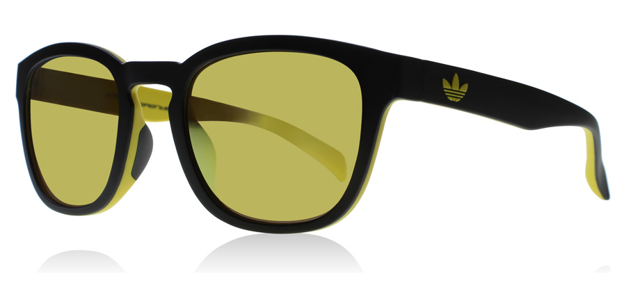 Compare retail prices of adidas Originals 1.009 Sunglasses Black / Yellow 63 52mm to get the best deal online